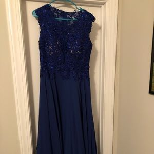 Dresses & Skirts - Size 11 Dark Royal Blue Gown